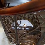 Stair case Casa Museo Modernista