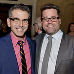 Wimberly Award Honoree David Cromer and Huntington Artistic Director Peter DuBois, photo: Paul Marotta