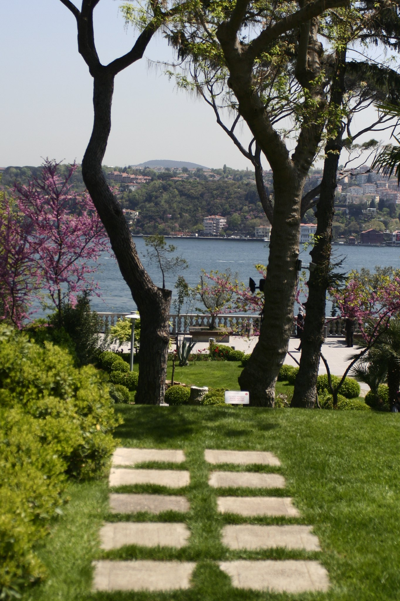 A view of the Bosporus from the Sakıp Sabancı.