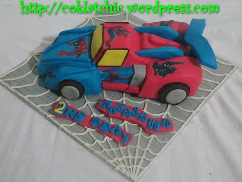 Cake Spiderman