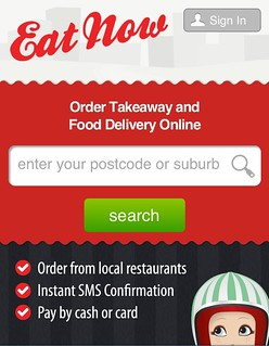Eat Now website