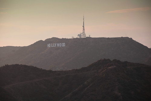 Hollywood Sign w/ Smog