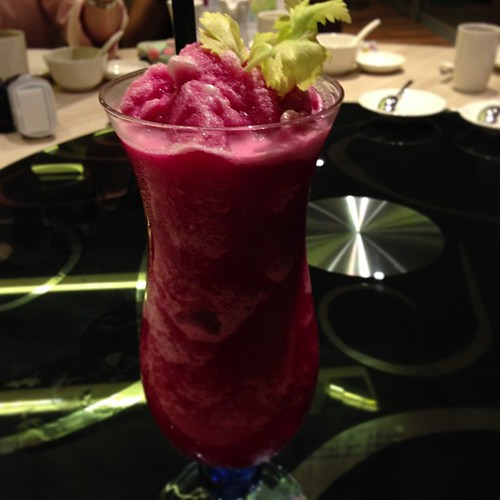 Detox #Smoothie: Apple Juice, Celery Juice, Beetroot & Ginseng. #yummy