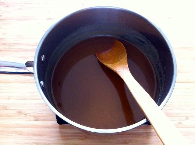 Foolproof Homemade Caramel Sauce, Cooling