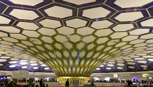 Abu dhabi airport lobby