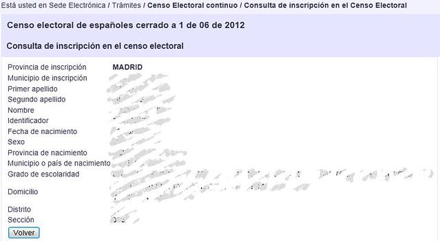 Consulta al Censo continuo