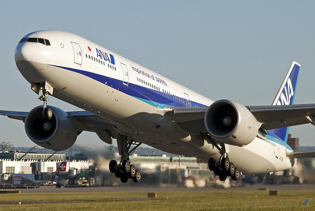 [Genève] Boeing 777 All Nippon Airways