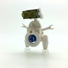 Humanoid Experimental Robot, B-type, Integrated Electronics