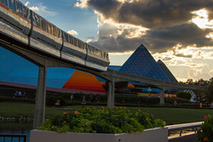 Monorail to the Imagination Pavilion