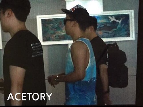 Seung Ri - Incheon Airport - 02aug2015 - Acetory - 01