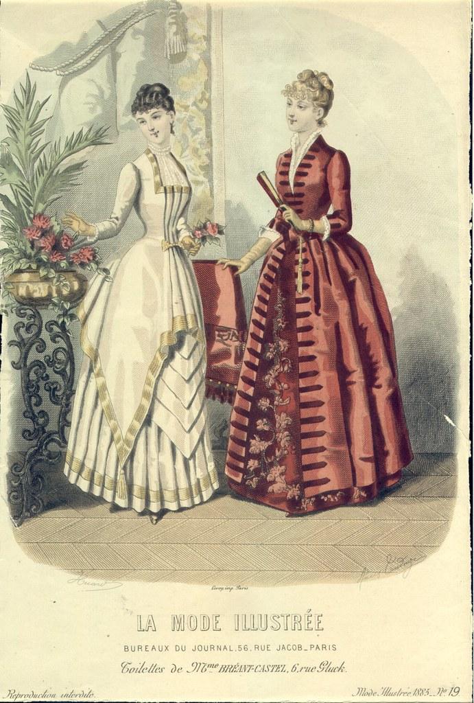 1885, La Mode Illustrée