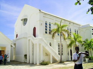 Church in suburb of Kingston, Jamaica