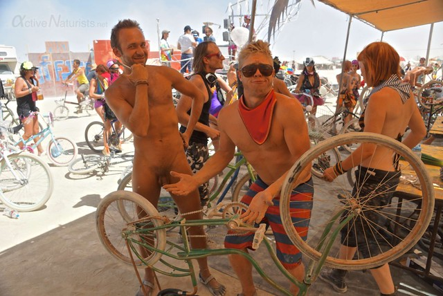 naturist 0003 Burning Man 2012, Black Rock City, NV, USA