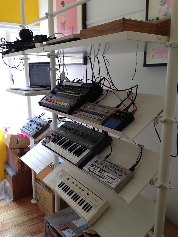 new standing studio setup acidboxblues. Black Bedroom Furniture Sets. Home Design Ideas