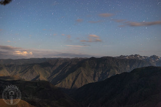 Night above Hells Canyon