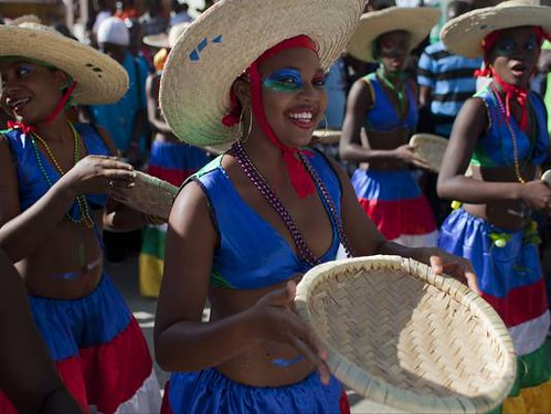 Participants in the Haitian Carnival of 2013. Several musicians say they have been barred from participation due to their criticism of the present government. by Pan-African News Wire File Photos