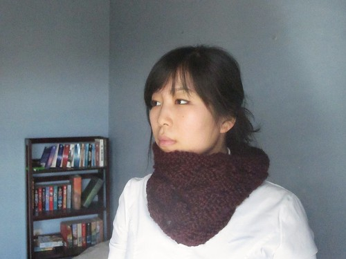 open stitch cowl