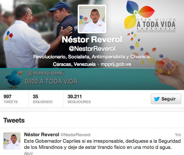 Twitter- Reverol.