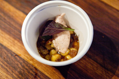 Stufato - Pig's foot, skin, cicerchie, whipped cotcechino and bean stew