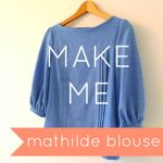 Buy Mathilde Blouse sewing pattern