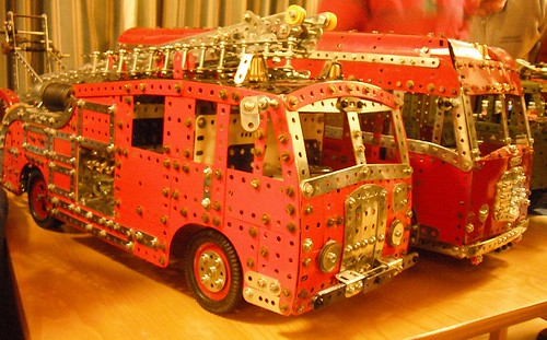 Meccano Fire Engines