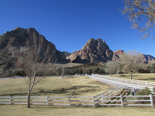 The View from Spring Mountain Ranch