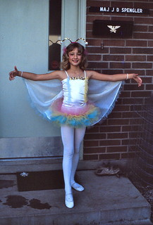 Jessica going to her Ballet Recital - 24 May 1981