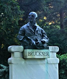 Image of Anton Bruckner. vienna austria stadtpark