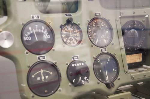 零式艦上戦闘機五二型・計器類
