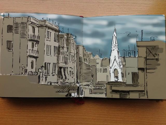 Barcelona ipad coloring
