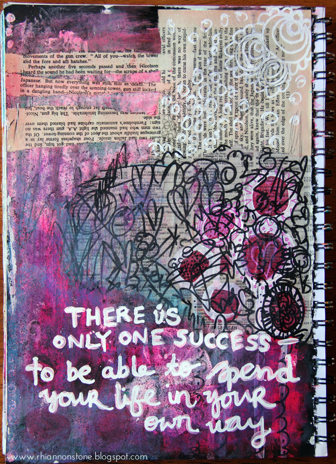 Art Journal Page #21