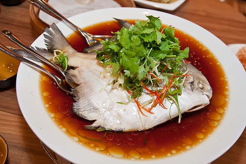 steamed pomfret fish hong kong style IMG_8980