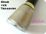Revlon Nail Polish Gold Coin