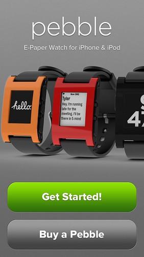 Pebble iOS App