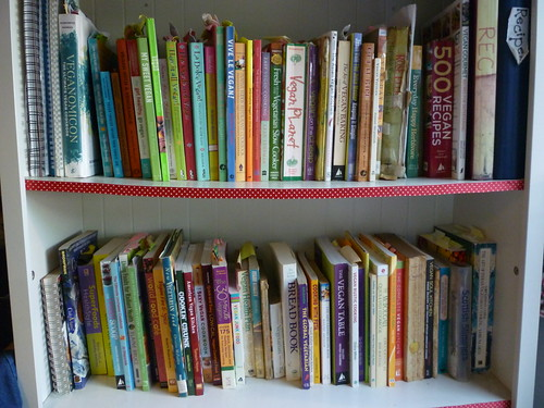 18th February 2013  Tidied recipe books – again!