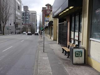 Metro Bus Stop #13284