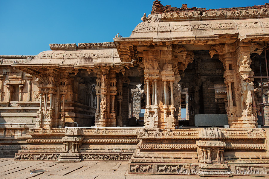 Temple of Vijayanagar empire, Karnataka, India