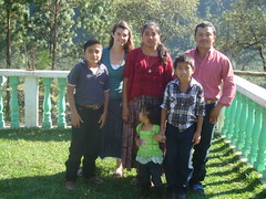 K'ekchi host family
