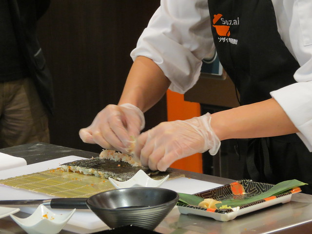 Sozai Cooking School - opening evening
