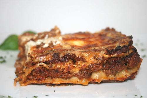 78 - Lasagne al cavallo (Pferde-Lasagne / Horse lasagna) - CloseUp