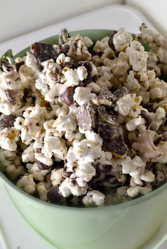 thin mint girl scout cookie popcorn