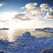 Lake Michigan Icebergs Pano by Fellowship of the Rich