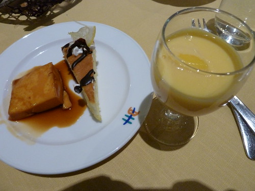 チーズケーキと2種類のプリン @ ブルーベリーヒル勝浦
