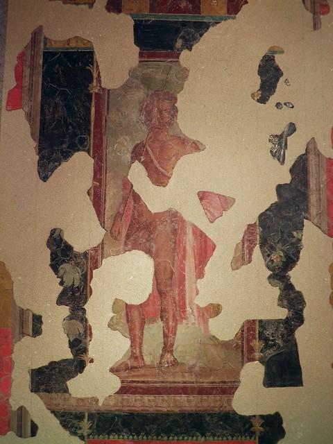 Fresco depicting Bacchus, discovered near Auch (Augusta Auscorum), BC 20–10, Musée des Jacobins, Auch