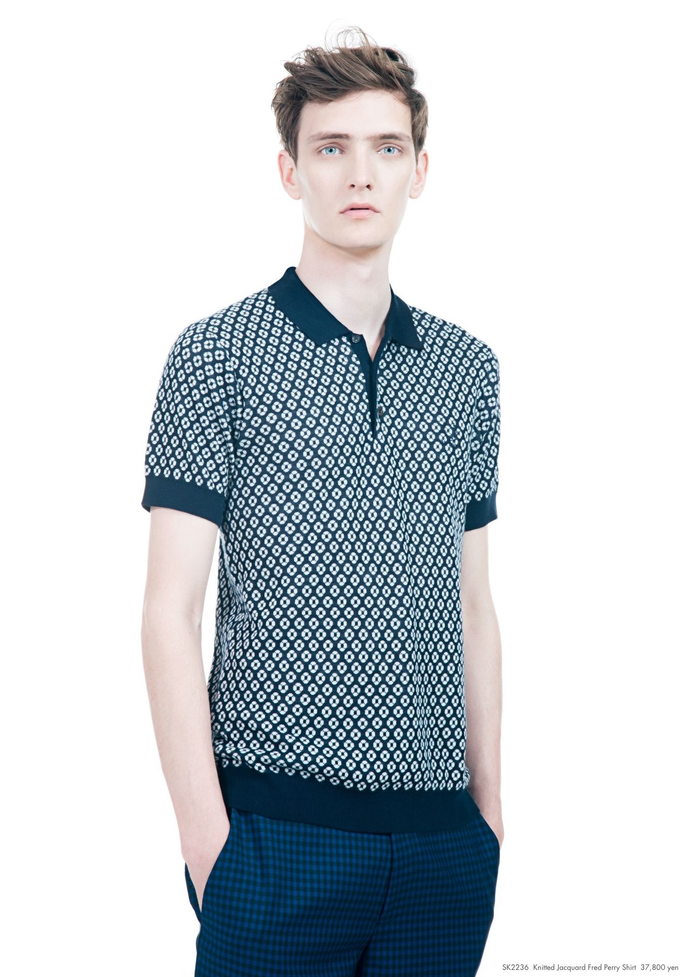 Yannick Abrath0042_Raf Simons × Fred Perry SS13