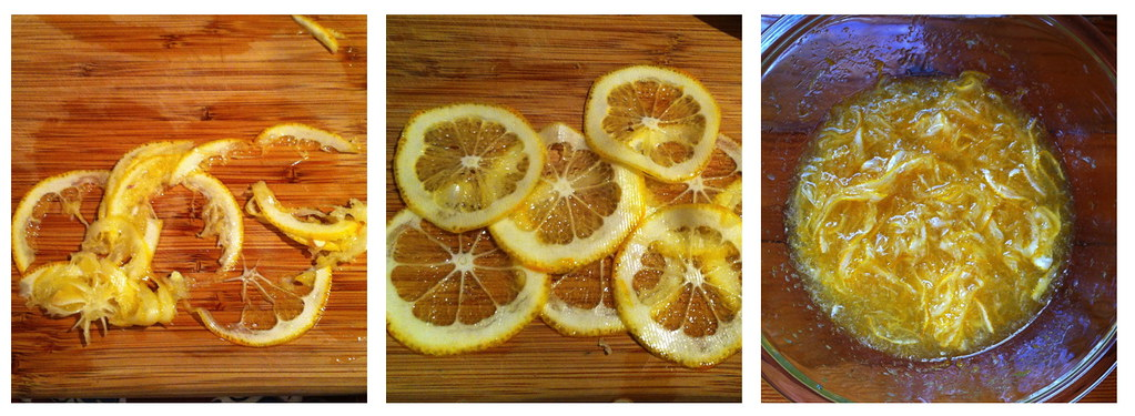 Lemon slicing