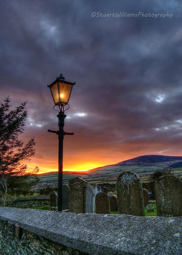 sunset church graves hdr isleofman stlukes