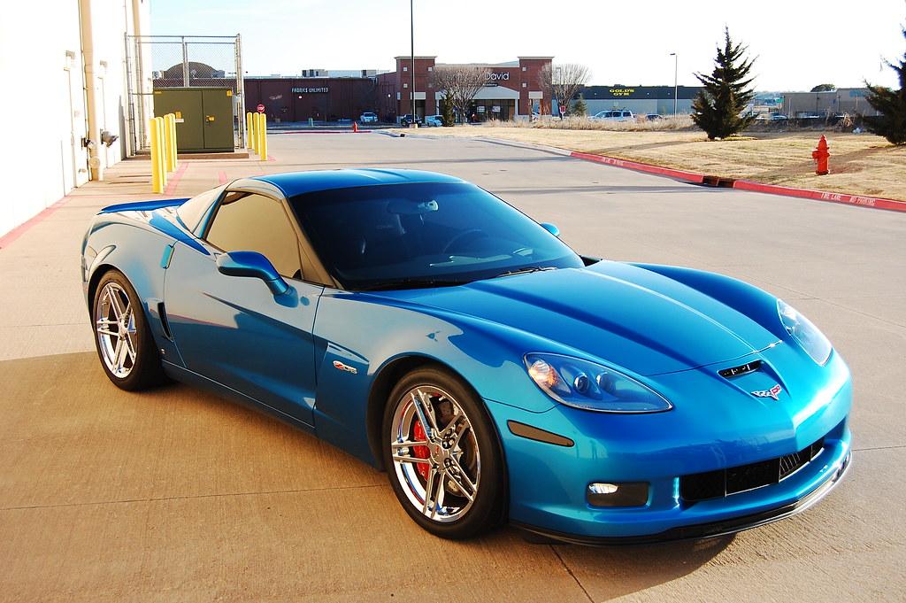 2008 Jet Stream Blue Z06 For Sale Corvetteforum Chevrolet