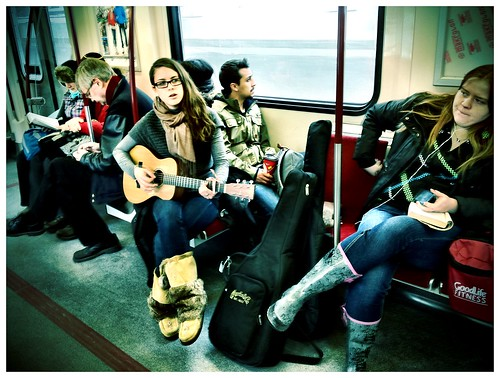 Sunday afternoon subway acoustic set - #62/365 by PJMixer