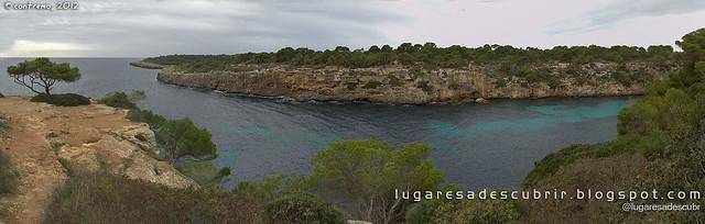 La salida de Cala Pi (Lluchmajor, Mallorca)